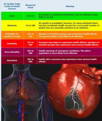 The Effect of Air Pollution on Myocardial Infarction